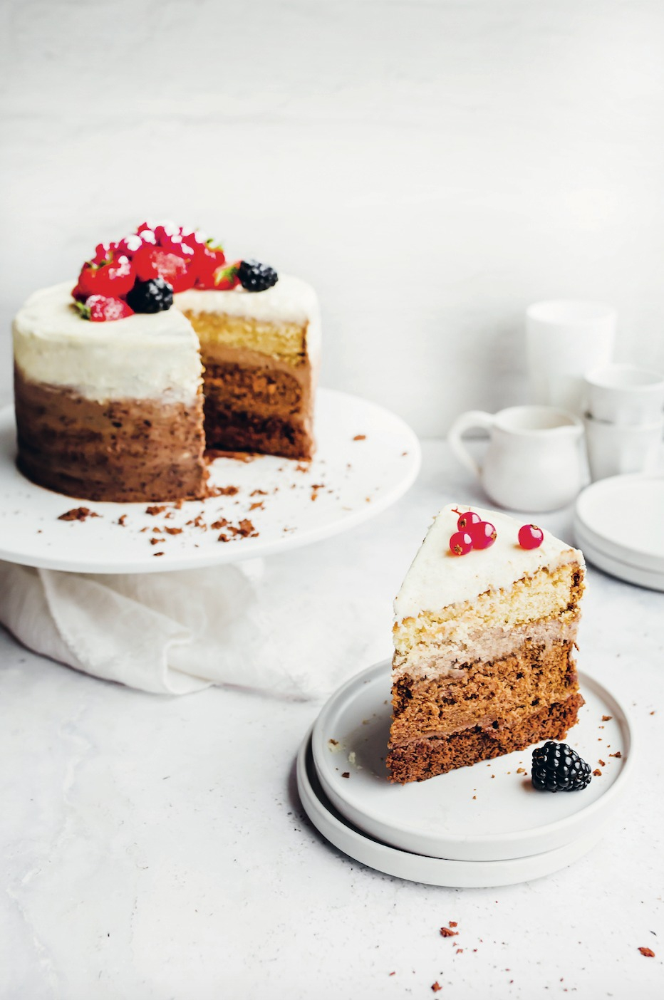 Ombre-layercake