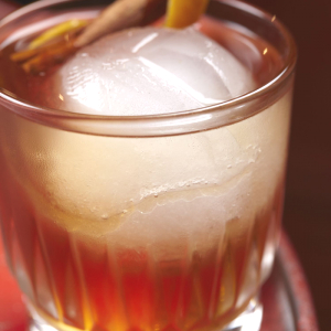 Dirty Rum Old Fashioned